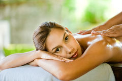 Woman At Spa Royalty Free Stock Images