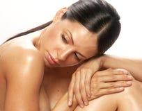 Woman spa. Stock Photos