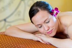 Woman At Spa Royalty Free Stock Image