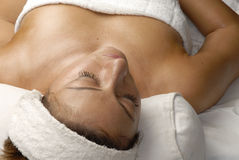 Woman spa. Royalty Free Stock Photography