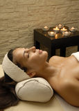 Woman spa Stock Image