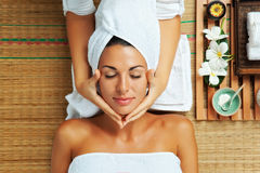 Woman on spa Royalty Free Stock Photography