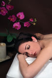 A woman in a spa Royalty Free Stock Photos