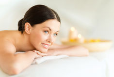 Woman in spa Royalty Free Stock Photography