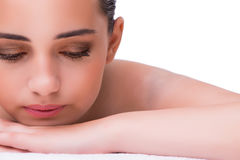 The woman in spa health concept Royalty Free Stock Photo