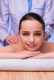 The woman in spa health concept Royalty Free Stock Image