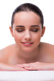 The woman in spa health concept Royalty Free Stock Photos