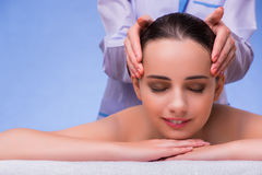 The woman in spa health concept Royalty Free Stock Images