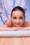 The woman in spa health concept Royalty Free Stock Photography