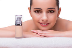 The woman in spa health concept Stock Image