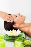 Woman in spa saloon Royalty Free Stock Photography