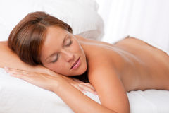 Woman in spa treatment Royalty Free Stock Photos