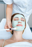 Woman in spa treatment Stock Photography