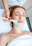 Woman in spa treatment Royalty Free Stock Images
