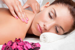 Woman in a Spa Stock Photos