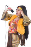 Woman in spanish clothing Royalty Free Stock Photos