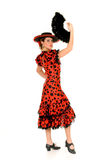 Woman Spanish dancer Stock Photo