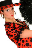 Woman Spanish dancer Stock Image