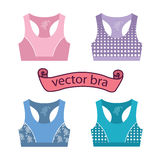 Woman Sport Bra Training Top Royalty Free Stock Images