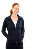 Woman in Sport Clothing Royalty Free Stock Photos