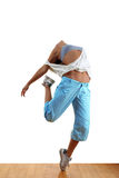 Woman sport dancer Stock Image