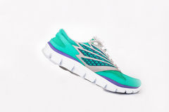 Woman sport shoes Royalty Free Stock Photos