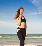 Woman in sport wear Royalty Free Stock Image