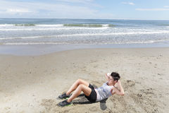 Woman sport Stock Photos