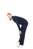 Woman in sports outfit Stock Photo