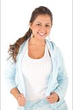 Woman in sportswear Stock Image