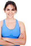 Woman in sportswear Royalty Free Stock Images