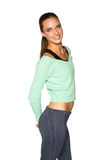 Woman in sportswear Royalty Free Stock Photo