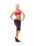 Woman in sportswear Royalty Free Stock Photos