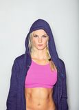 Woman Sportswear Fashion Portrait Stock Photography