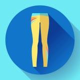 Woman sportswear - sport and yoga leggings Royalty Free Stock Image