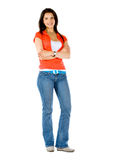 Woman standing Royalty Free Stock Photo