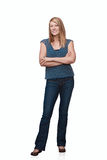 Woman Standing Royalty Free Stock Image