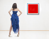 At gallery Stock Image
