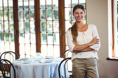 Free Woman Standing With Arms Crossed Royalty Free Stock Photo - 73246145