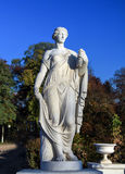 Woman statue at Arkhangelskoye Palace park Royalty Free Stock Photos