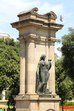 Woman Statue - Barcelona Royalty Free Stock Photos