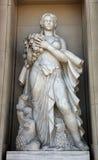 Woman Statue - Barcelona Stock Photography