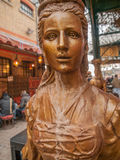 Woman Statue at Camden Market Stock Photography