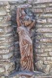 Woman statue on Crete Stock Photography