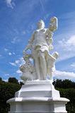Woman statue in the garden from the Augustusburg castle in Brüh Stock Photos