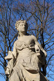 Woman statue in the park Royalty Free Stock Image
