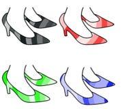 Woman stilettos Royalty Free Stock Images