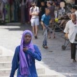 Woman on the street Royalty Free Stock Photos
