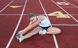 Free Woman Stretching Stock Photo - 1584480