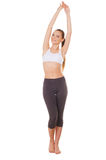 Woman stretching. Stock Photography